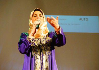 المشاركة في مهرجان الشعر بمدينة الناظور