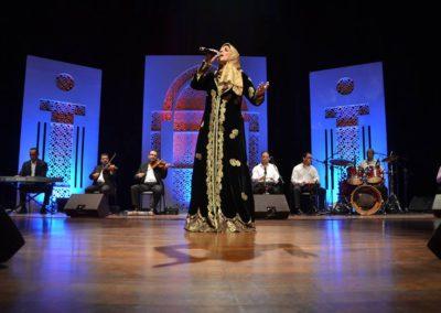 2016 : حفل بمدينة الرباط بمسرح محمد الخامس