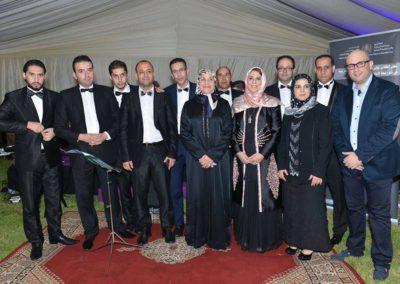 مع السيدة وزيرة الأسرة والطفل والمرأة والتنمية الاجتماعية