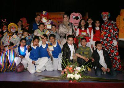 صبيحة للأطفال بمسرح اسبانيول بمدينة تطوان، بمناسبة اليوم العربي لليتيم