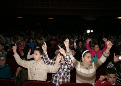 نشاط بمناسبة اليوم العربي لليتيم بمدينة تطوان