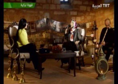 لقاء صحفي مع قناة TRT التركية