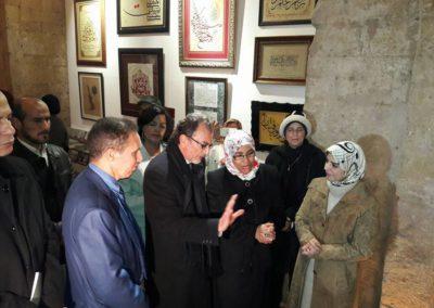 مع وزير الثقافة بمدينة الرباط