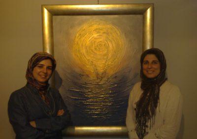 معرض الفنانة التشكيلية نسرين الشودري